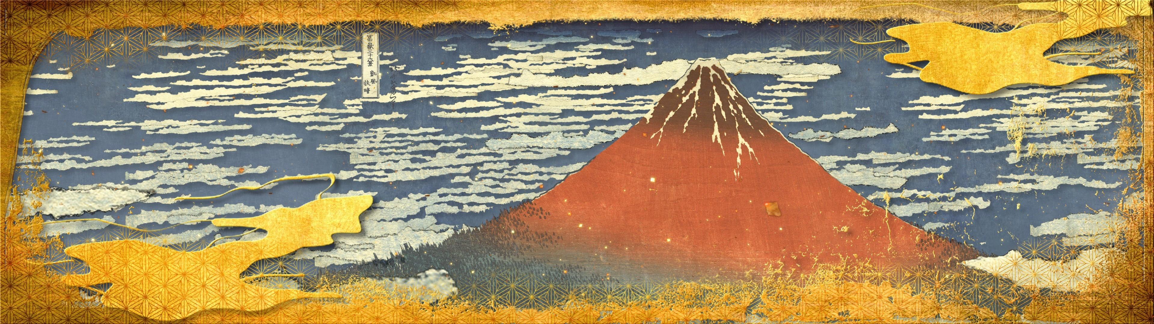 景 富嶽 三 十 六