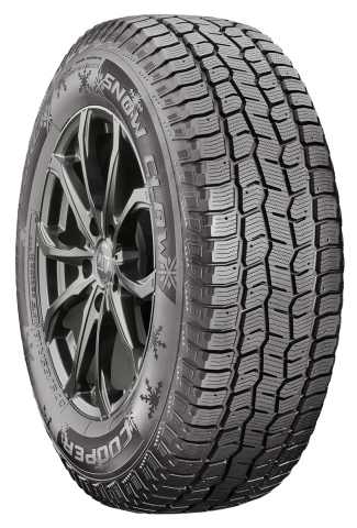 The new Cooper® Discoverer® Snow Claw™ tire gives drivers confidence and grip on the road in the bitter cold, snow and ice. (Photo: Business Wire)