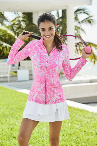 Lilly Pulitzer and the Women's Tennis Association Announce 2020 Partnership, Aimed to Inspire Confidence and Optimism in Future Generations (Photo: Business Wire)