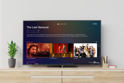 Tubi is now available to stream in over 30,000 hotel rooms nationwide. (Photo: Business Wire)