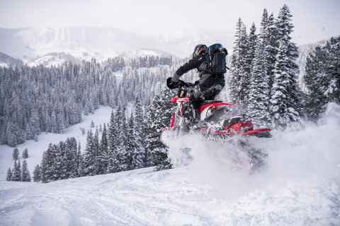 RIOT Velocity. The ARO3 and RIOT Velocity models feature exclusive lightweight componentry, developed on the race track. The lightweight drivetrain works in harmony with the Velocity shocks to create a technologically superior, ultra-high performance Timbersled. (Photo: Business Wire)