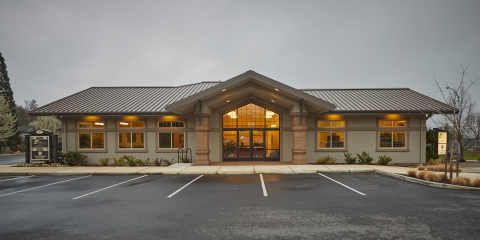 Location of Oregon Pacific Bank's Medford branch at 3250 Hillcrest Park Drive, Suite 100 (Photo: Business Wire)