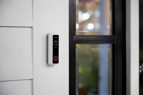 With more than a million packages stolen or that go missing from porches every day, the new Vivint Doorbell Camera Pro provides homeowners with peace of mind by helping to prevent crime before it happens. (Photo: Business Wire)