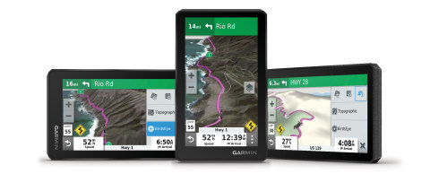 Introducing the all-terrain zūmo® XT motorcycle navigator from Garmin®. (Photo: Business Wire)