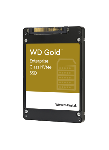 Western Digital Empowering Small and Medium Enterprises in Transition to NVMe with New WD Gold NVMe SSDs (Photo: Business Wire)