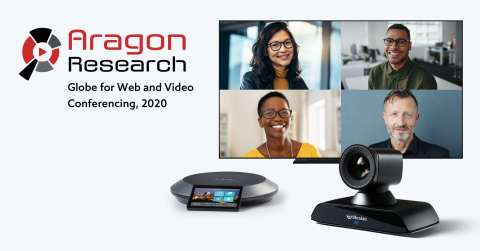 """Lifesize was selected as a """"Leader"""" in the Aragon Research Globe for Web and Video Conferencing, 2020 (Photo: Business Wire)"""