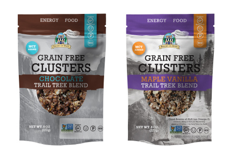 Bakery On Main Introduces Grain Free Snack Clusters with MCT Oil. (Photo: Business Wire)