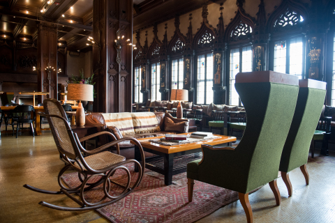 Chicago Athletic Association Drawing Room (Photo: Business Wire)