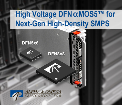 Super Junction MOSFETs in SMD-type DFN5x6 and DFN8x8 Packages (Graphic: Business Wire)