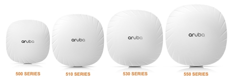 The full family of Aruba Wi-Fi 6 access points have received Wi-Fi CERTIFIED 6 certification from the Wi-Fi Alliance (Graphic: Business Wire)