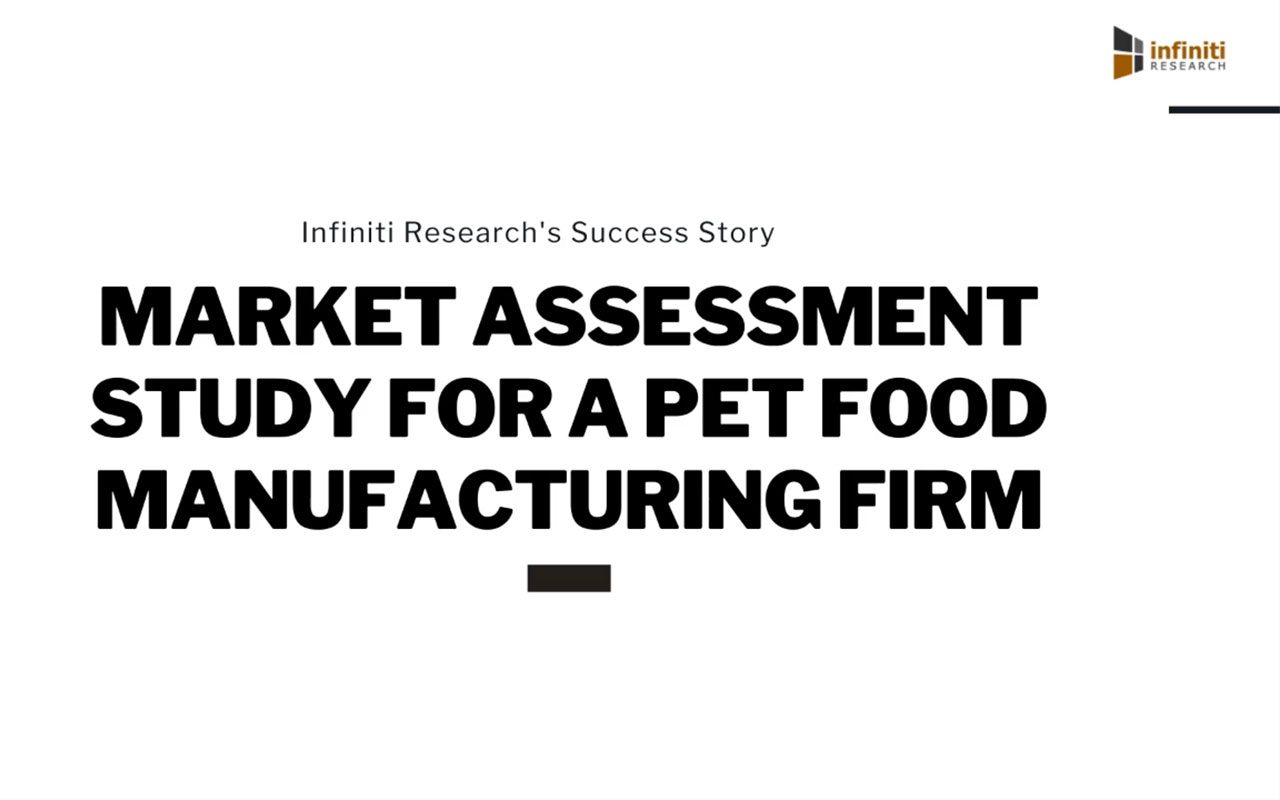 Infiniti Helped a Pet Food Manufacturing Firm Achieve Savings of Over €10 Million in Six Months