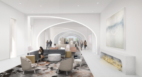 Lobby inside Quirk Hotel Charlottesville (Photo: Business Wire)