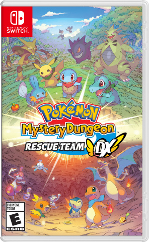 Pokémon Mystery Dungeon: Rescue Team DX is now available at a suggested retail price of $59.99. (Graphic: Business Wire)