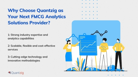 Why Choose Quantzig as Your Next FMCG Analytics Solutions Provider? (Graphic: Business Wire)