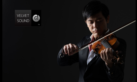 Daishin Kashimoto, 1st Concertmaster of the Berlin Philharmonic, as brand ambassador for VELVET SOUND (Photo: Business Wire)