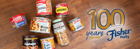 Fisher® Nuts Celebrates Its 100th Anniversary