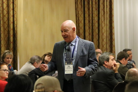 Paul Migdal, Executive Vice President of The Greenspan Co./Adjusters International teaching to insurance professionals. (Photo: Business Wire)