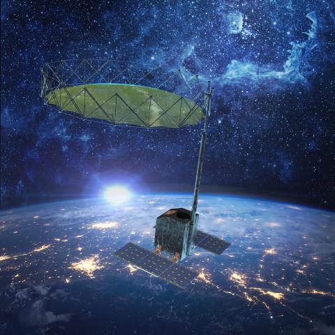 L3Harris Technologies Smallsat Perimeter Truss Reflector Antenna (Photo: Business Wire)