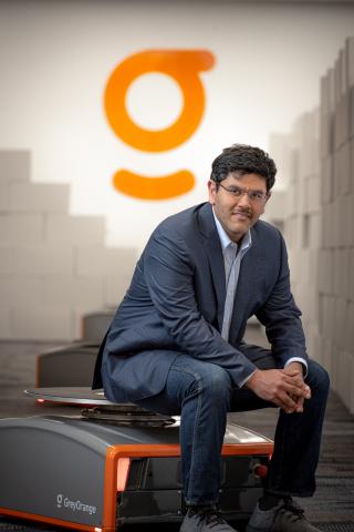Samay Kohli, CEO and Co-Founder of GreyOrange (Photo: Business Wire)