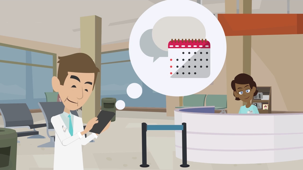 A better way to communicate for medical professionals and patients.