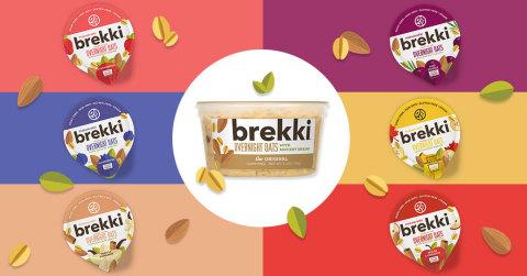 "brekki Overnight Oats Introduces Fruit ""Down Under"" (Graphic: Business Wire)"