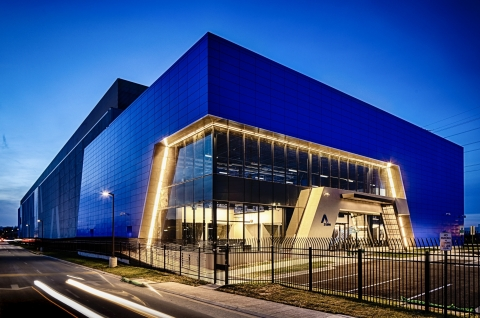 Aligned Energy Ashburn Data Center Campus (Photo: Business Wire)
