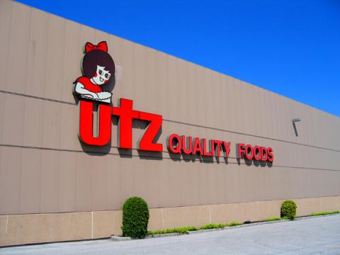 Utz Quality Foods' Headquarters, Hanover, PA (Source: Utz Quality Foods, LLC.)