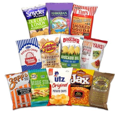 Utz Quality Foods' family of brands (Source: Utz Quality Foods, LLC.)