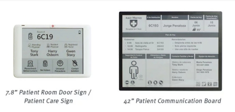 E Ink Announces Digital Paper Device Loaner Program for Smart Hospital/Healthcare (Photo: Business Wire)