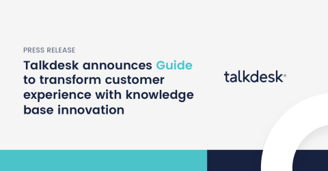 Talkdesk 20-in-20 program continues with product #5 of 20, a new and innovative approach to knowledge base solutions (Graphic: Business Wire)