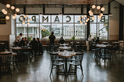 Belcampo, pioneer of hyper-sustainable organic, grass-fed and -finished, Certified Humane meats, broths and jerky, has announced the opening of its new restaurant in San Mateo, Calif., located at 4 Hillsdale Mall. (Photo: Business Wire)
