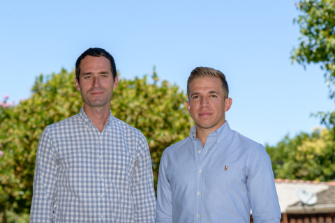 Flowspace co-founder & CEO Ben Eachus (left) and co-founder & CTO Jason Harbert (right). (Photo: Business Wire)