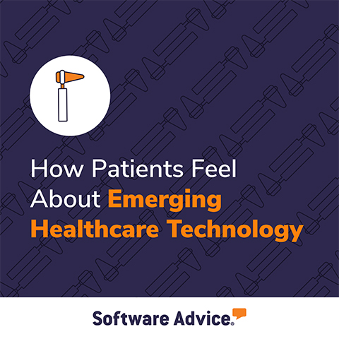 Software Advice surveyed U.S. patients about their opinions, preferences, and expectations around three major healthcare technologies: artificial intelligence, telemedicine, and electronic health record systems.