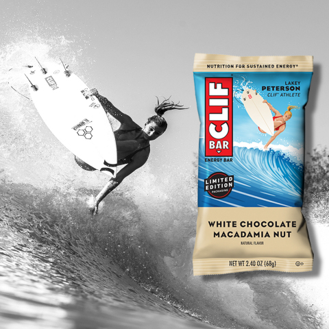 CLIF BAR Athlete Packaging featuring surfer Lakey Peterson (Photo: Business Wire)