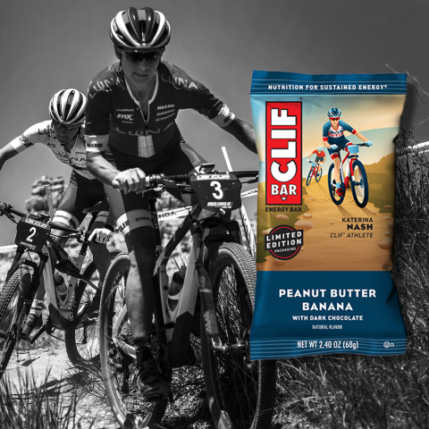 CLIF BAR Athlete Packaging featuring cyclist Katerina Nash (Photo: Business Wire)