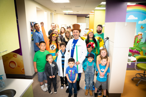 The Super Dentists' Golden Sticker Winners with Dr. Kami Hoss (Photo: Business Wire)