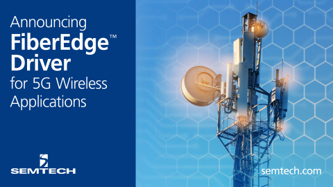 Announcing FiberEdge™ Driver for 5G Wireless Applications (Photo: Business Wire)