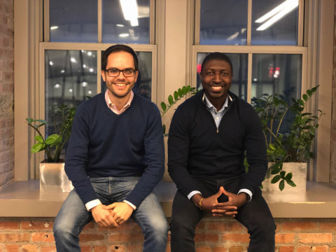 RubiconMD Co-founders Carlos Reines (left) and Gil Addo (right). (Photo: Business Wire)