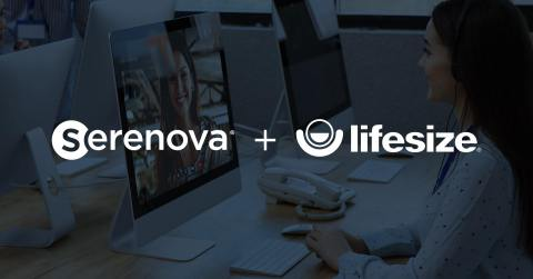 Lifesize and Serenova have merged, creating a contact center communications and workplace collaboration company. (Graphic: Business Wire)