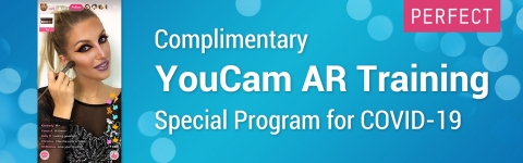 Complimentary YouCam AR Training Special Program for COVID-19 (Graphic: Business Wire)