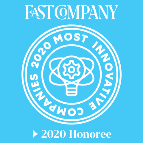 AMP selected by Fast Company to their 2020 Most Innovative Robotics Companies list (Graphic: Business Wire)