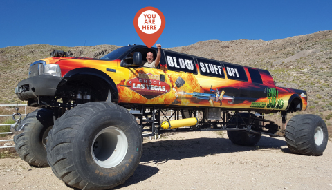 YOU Can Drive a Monster Truck! (Photo: Business Wire)