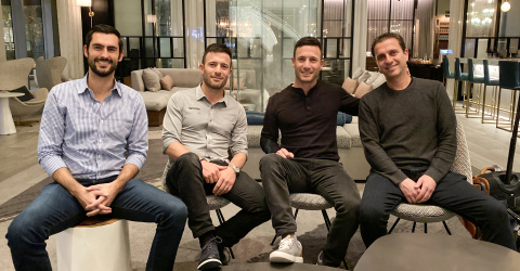 From left: RJ Horsley, Zach Hyman, Matt Hyman and Doron Friedman (Photo: Business Wire)