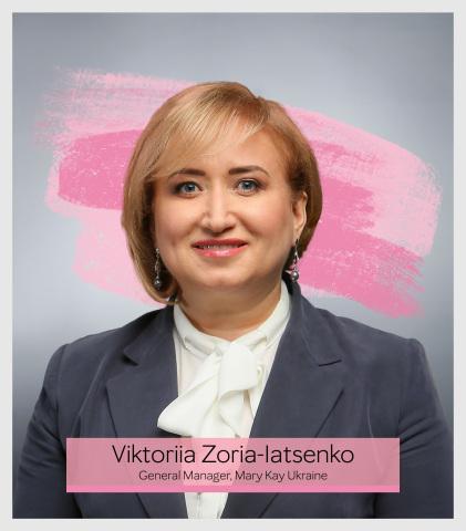 "Viktoriia Zoria-Iatsenko – General Manager, Mary Kay Ukraine. Recipient of ""Top 25 Business Women in Ukraine"" award by Vlast Deneg magazine (Power of Money) (Photo: Mary Kay Inc.)"