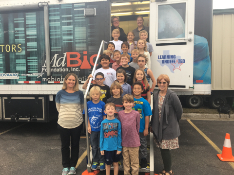 Learning Undefeated robust education program and disaster-relief efforts in Texas have grown into building two new mobile Drop Anywhere labs dedicated exclusively to serving students across Texas. (Photo: Business Wire)