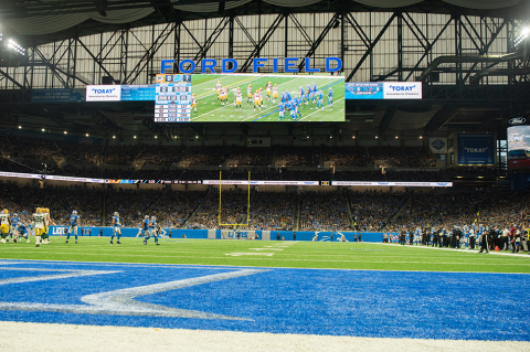 Toray Industries (America), Inc., signed a three-year agreement in October 2019 with the National Football League's Detroit Lions to be a team partner beginning in 2019 and continuing through the 2021 season. (Photo: Business Wire)