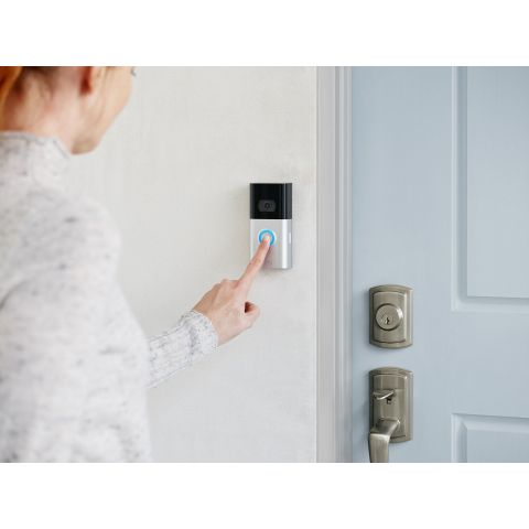 Ring today unveiled the new Ring Video Doorbell 3 and Ring Video Doorbell 3 Plus. (Photo: Business Wire)
