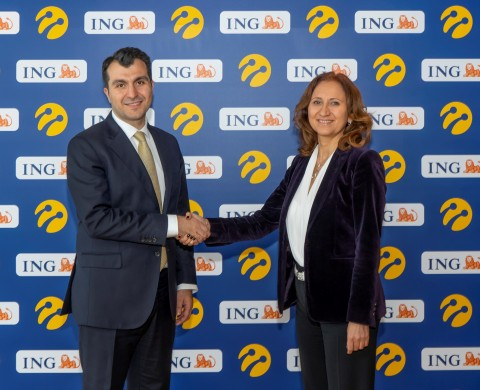 Turkcell and ING European Financial Services plc, %100 affiliate of ING in Turkey, have signed a 'Green Loan' agreement of 50 million Euros with a 5-year term. (Photo: Turkcell)