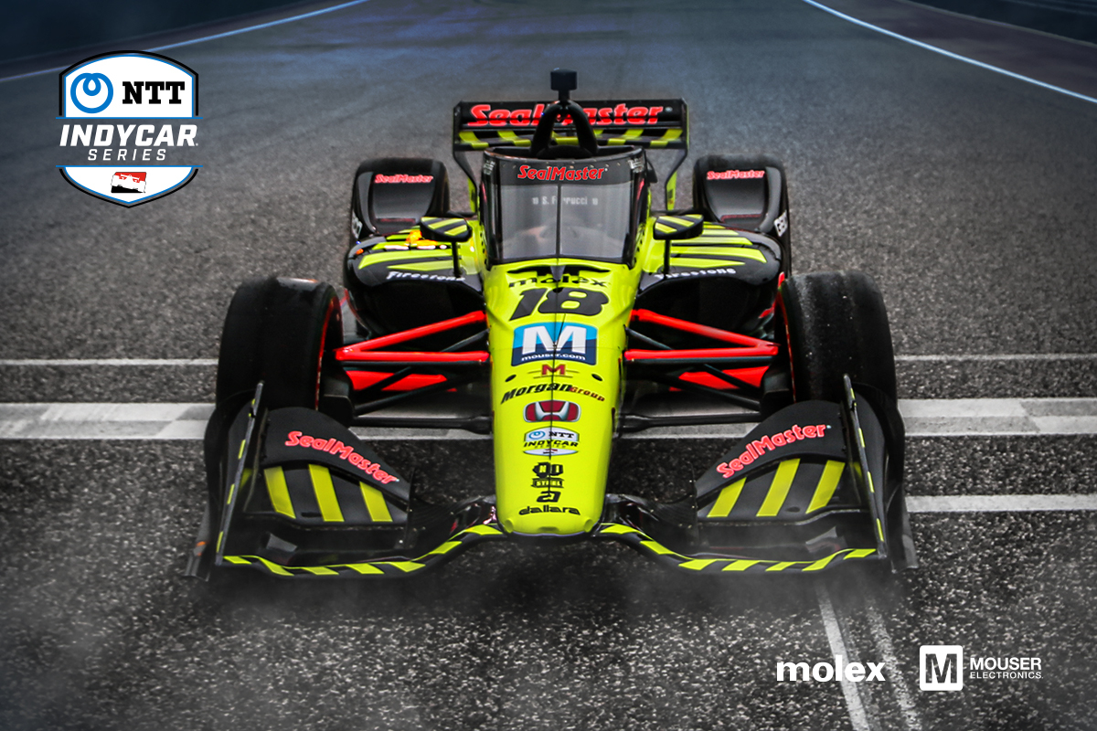 Mouser and Molex Team Up to Sponsor Dale Coyne Racing with Vasser ...