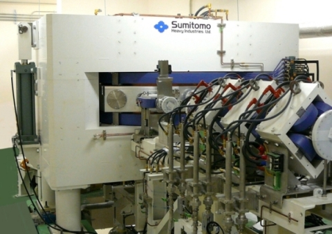 Accelerator based BNCT system and its cyclotron (Photo: Business Wire)